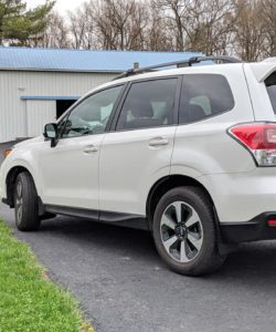 T N M F Forester SJ mudflaps side profile