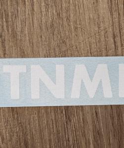 T N M F stickers single