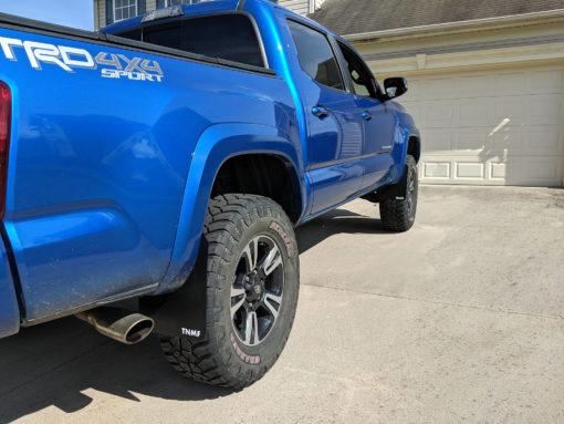 2016 Toyota Tacoma Rear Passenger Side T N M F Mudflaps